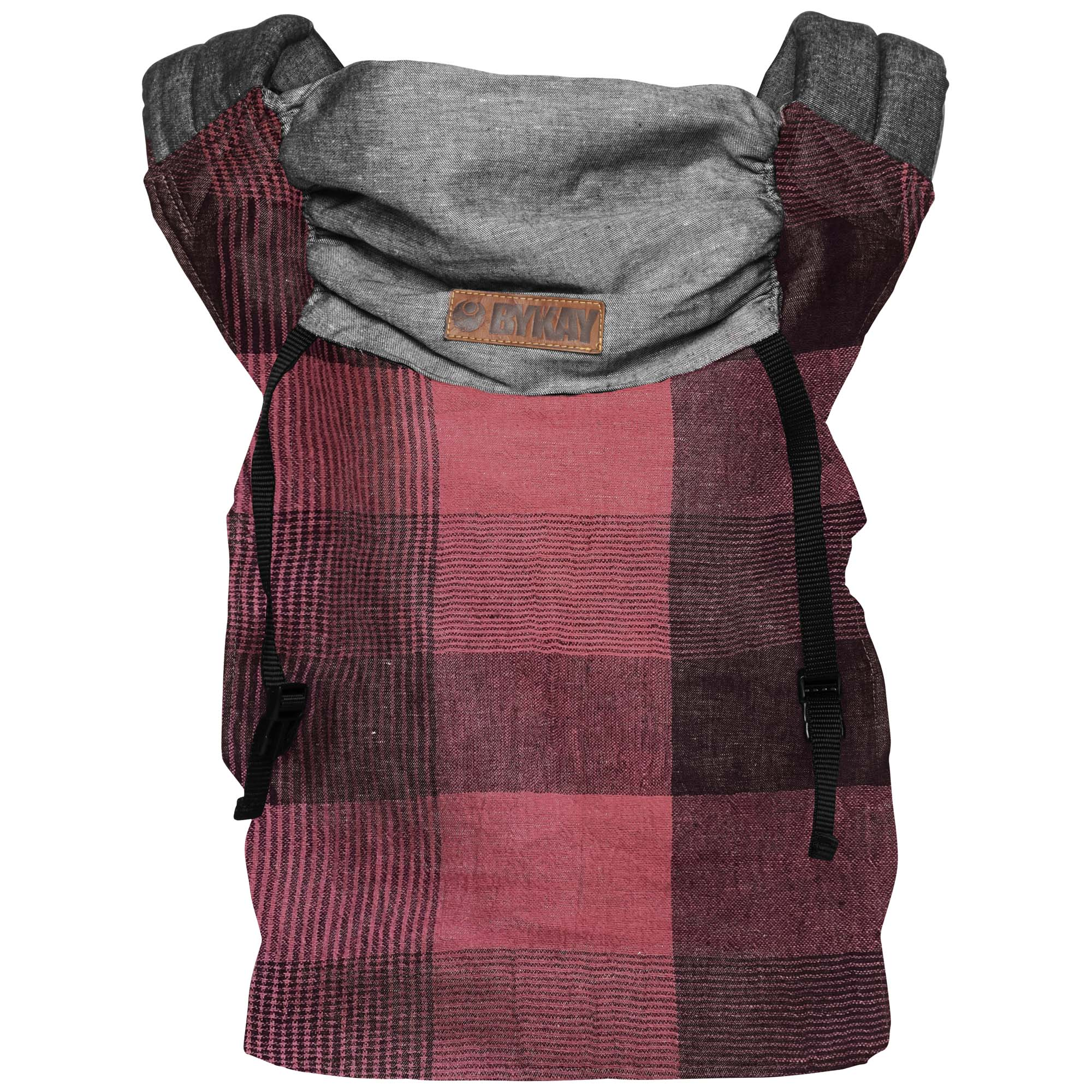 Bykay Click Carrier Reversible Draagzak - Limited Edition Red Plaid